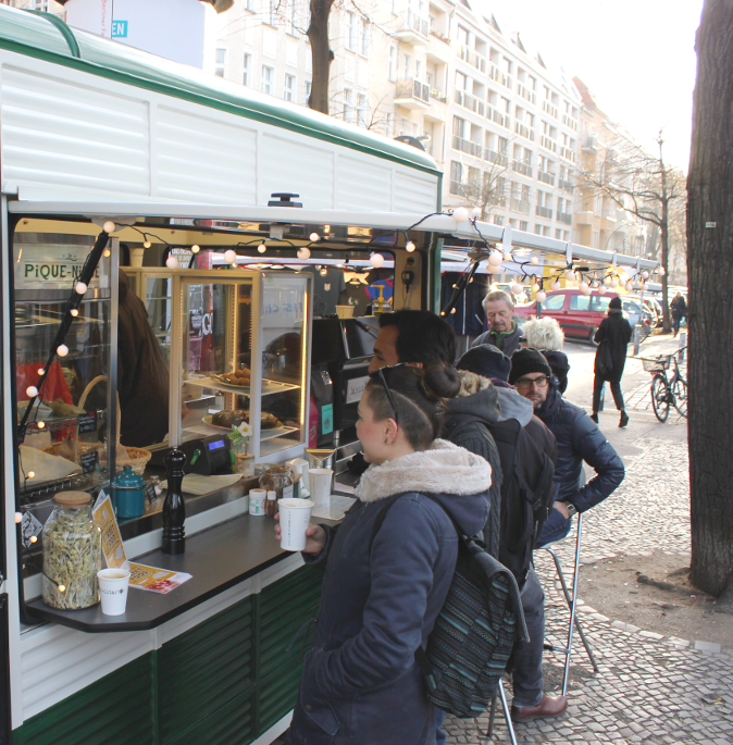 Foodtruck at Boxhagener Platz2